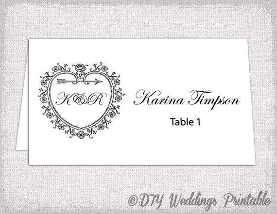 name tent template