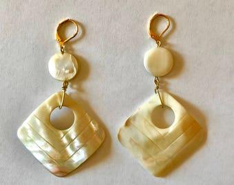 Dangling Shell Earrings
