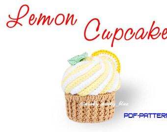 Lemon Cupcake Crochet Pattern