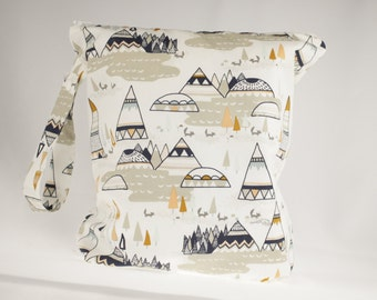 Clearance! Tepee Wet Bag