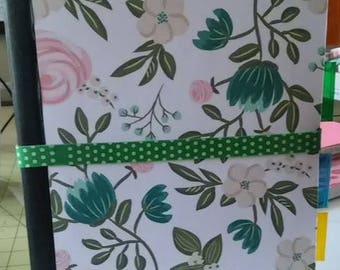 Floral Vine Composition Notebook Journal