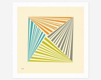 SYSTEMS 29.1 (Giclée Fine Art Print/Photo Print/Poster Print) Minimal Geometric Abstract Art