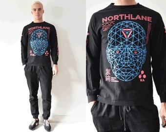 NORTHLANE Long Sleeve Graphic Perception Tshirt