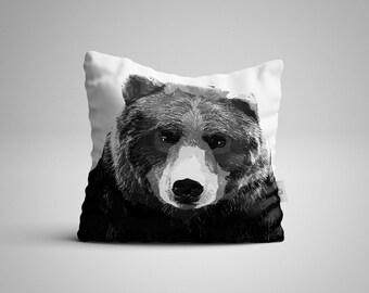 Mr Bear Cushion