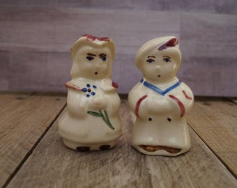 Shawnee Pottery Boy and Girl Salt and Pepper Shakers