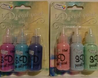 Paint 3D effect beads