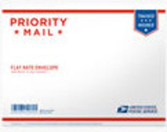 "PRIORITY MAIL Shipping Flat Rate Envelope 12.5"" x 9.5"""