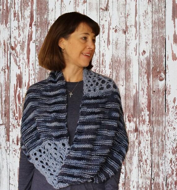 Knit Cowl Pattern Knit Pattern For Mobius Wrap Knitting Pattern
