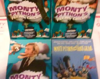 Monty Python's Flying Circus VHS Tapes - Lot of 4