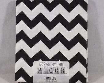 Black w/ White Fat Quarter - #132 - Design by the Piece