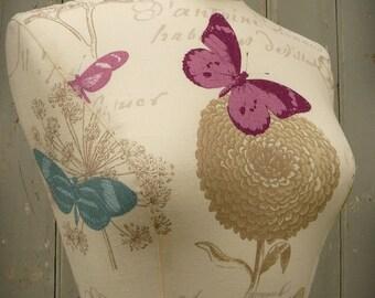 Home Decor Interior Design Bedroom Mannequin Dressform Display - Butterfly