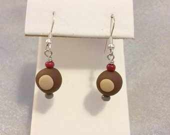 Buckeye Earrings