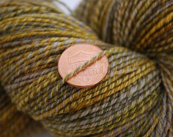 Handspun 3-ply Portuguese Wool Yarn