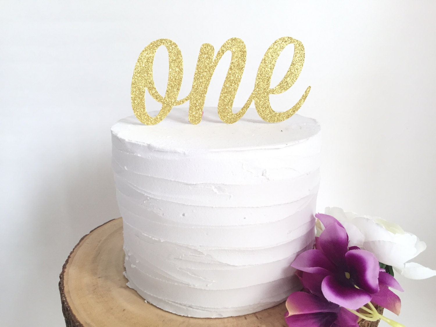 One Cake Topper l First Birthday Topper l First Birthday