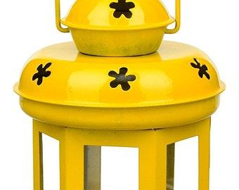 Yellow table lantern