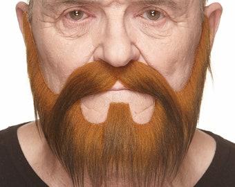 Nomad dark ginger beard and mustache (046-MG)