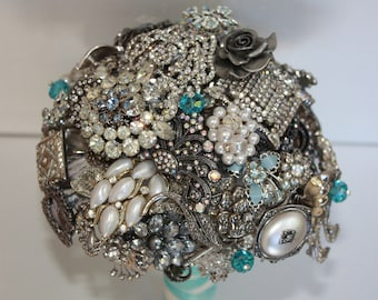 Brooch Bouquet for Vow Renewal
