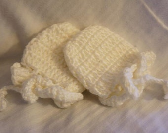 Crochet Baby Mittens