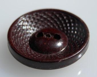 Plastic Vintage Button