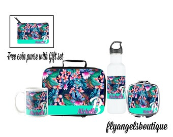 Personalize Floral Gift Set