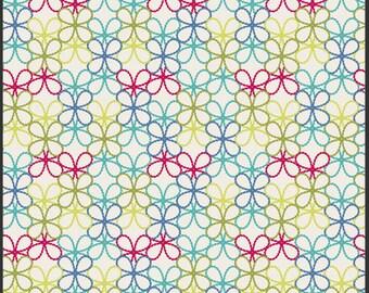 Modernology - Posh Florets Bright - Pat Bravo - Art Gallery Fabrics - Fabric By the Half Yard