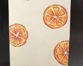 Petite Folded Notecards - Oranges