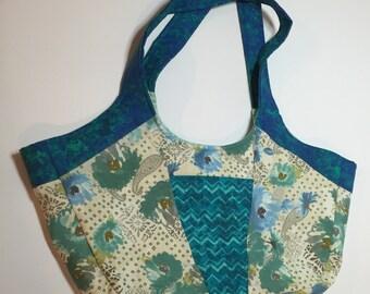 Blue Swoop Bag