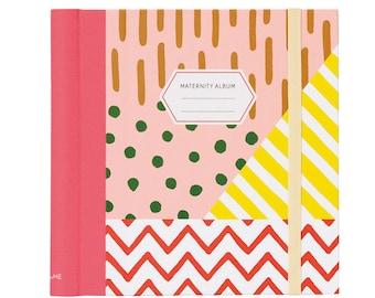 Maternity photo album, Scrapbooking album, Baby book, Pregnancy journal, Gift for new mom, Baby memories diary