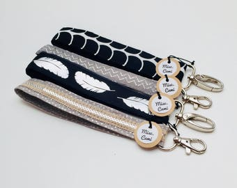 Keychain Wristlet with lobster clasp