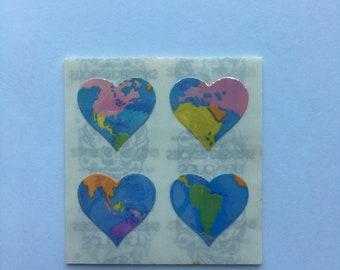 World Heart Sandylion Sticker