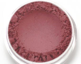 "Matte Deep Pink Eyeshadow - ""Jest"" - Vegan Mineral makeup"