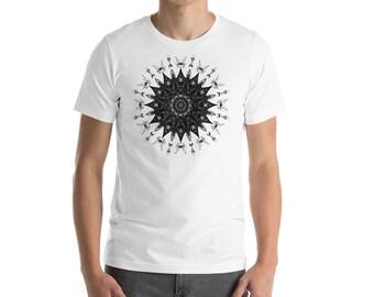 Screaming Mandala T Shirt