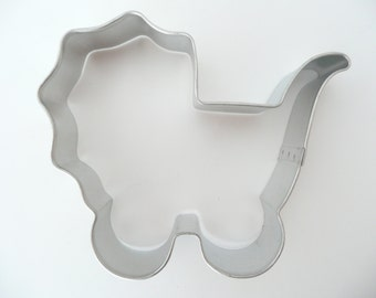 "4"" Baby Carriage Cookie Cutter Buggy Stroller Shower"