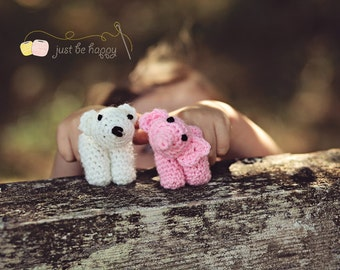 Instant Download, Little Zoo Finger Puppets, Crochet PATTERN