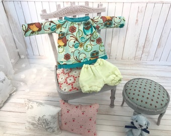 set blouse and trouser cotton fabric