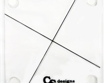 """Twister Ruler tool for 10"""" square from CS Designs"""