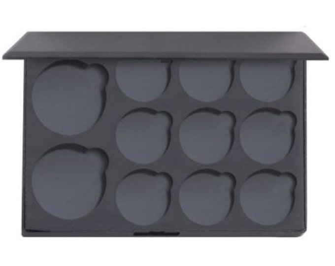Empty Magnetic Palette - holds 2 36mm pans and 9 26mm pans