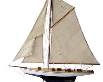 """39"""" Defender Sailing Boat Model"""