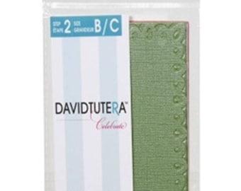 Darice 12-Pack David Tutera Celebrate Step 2 Card Layer, A2, Edge Lace RG3-D480