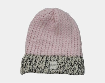Popular Pink Cap with Speckled White Brim