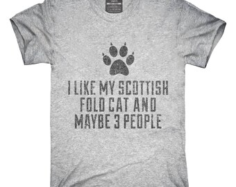 Funny Scottish Fold Cat Breed T-Shirt, Hoodie, Tank Top, Gifts