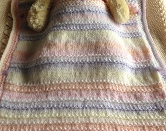 SALE! DOLLY MIXTURE Baby Blanket knitting pattern