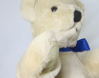 Vintage 1985 Canterbury Bear -  From a Bear Collection - Never Played With - Made in England