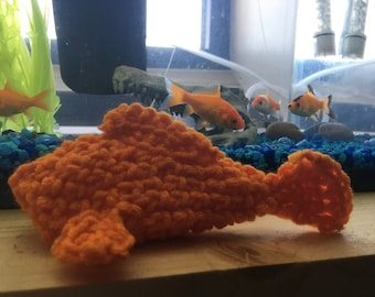 Crocheted Goldfish