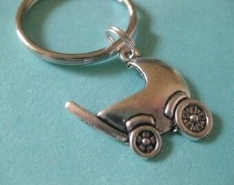Baby Buggy - Key Ring