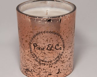 Scented Soy Candle - Bronze Large