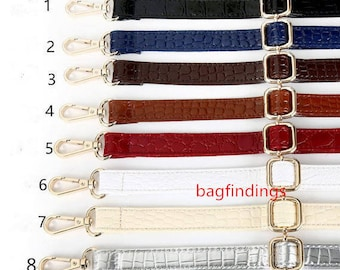 PU Leather Purse Strap Accessories Shoulder Replacement BA89