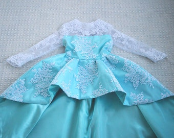 Frozen Inspired Elsa Gown