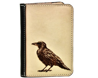 Edgar Allen Poe Journal - Raven Nevermore - Writer's Notebook - Gift for English Graduates - Poetry Journal