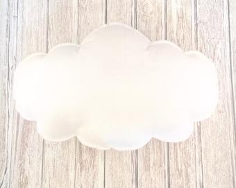 "Large Cloud, 17"", Pillow, Mobile, Nursery Decor"